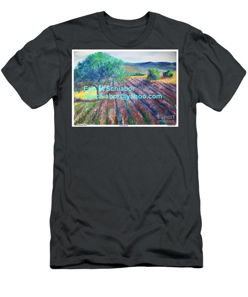 Provence Lavender Field Men's T-Shirt (Athletic Fit)