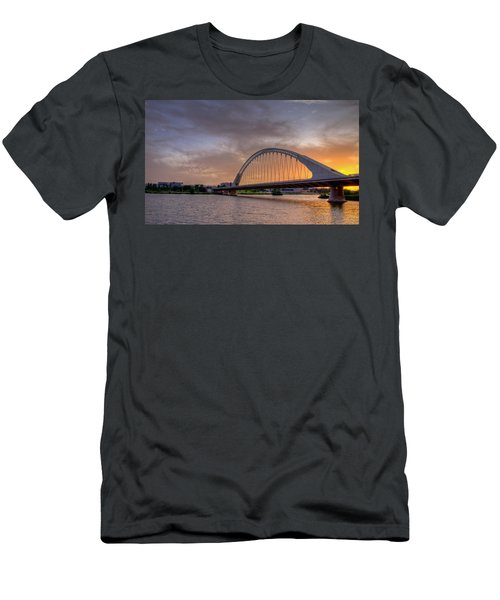Puente De Lusitania II Men's T-Shirt (Athletic Fit)