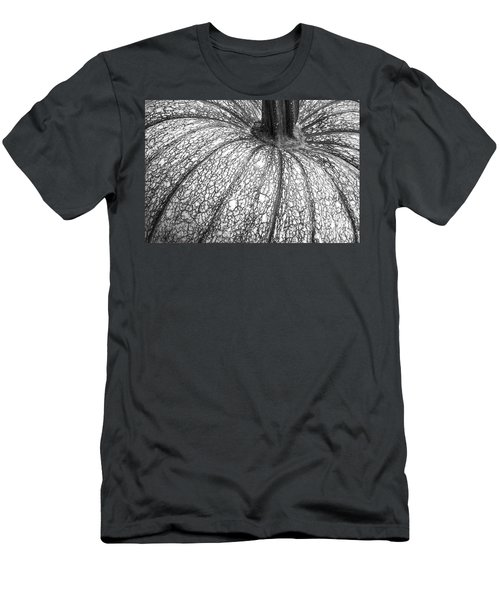 Pumpkin Pumpkin Black And White Men's T-Shirt (Athletic Fit)