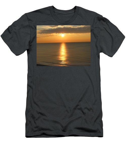 Pure Silk Men's T-Shirt (Athletic Fit)