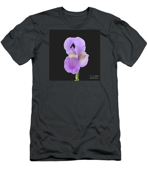 Purple Iris Men's T-Shirt (Slim Fit) by Scott Cameron