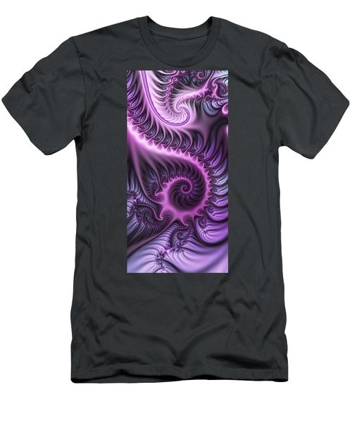 Purple And Friends Men's T-Shirt (Slim Fit) by Gabiw Art