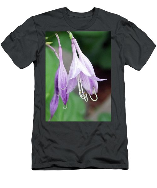 Purple And White Fuchsia Men's T-Shirt (Athletic Fit)