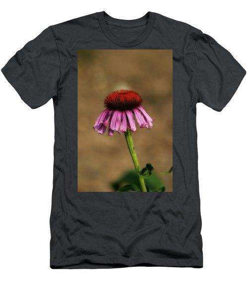 Purple Coneflower Men's T-Shirt (Athletic Fit)