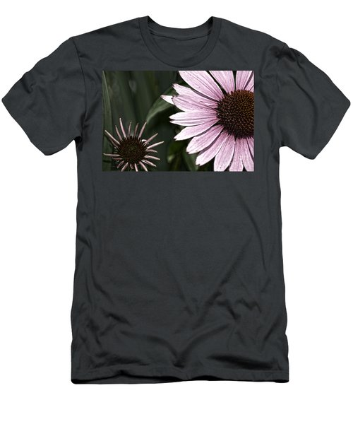 Purple Coneflower Imperfection Men's T-Shirt (Athletic Fit)