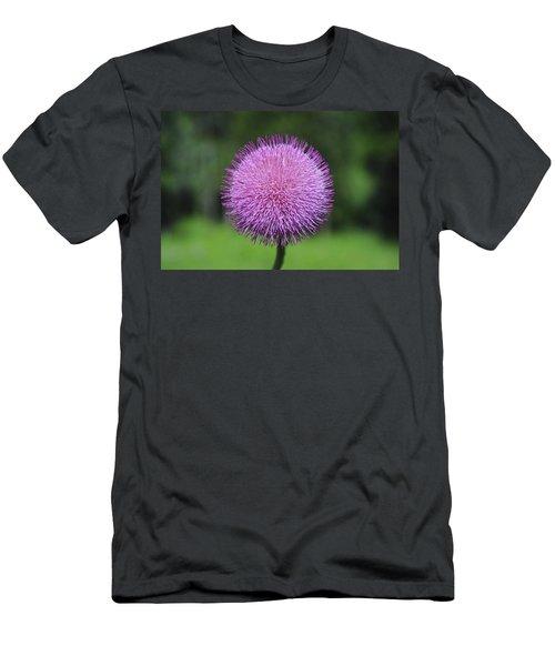 Purple Fuzz Men's T-Shirt (Athletic Fit)