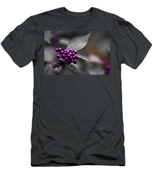 Purple Only Men's T-Shirt (Athletic Fit)