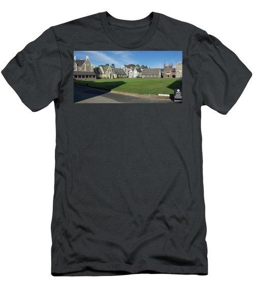 Quad At Christs College, Christchurch Men's T-Shirt (Athletic Fit)