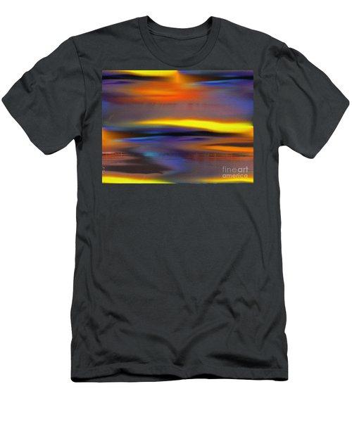Soft Rain Men's T-Shirt (Slim Fit) by Yul Olaivar
