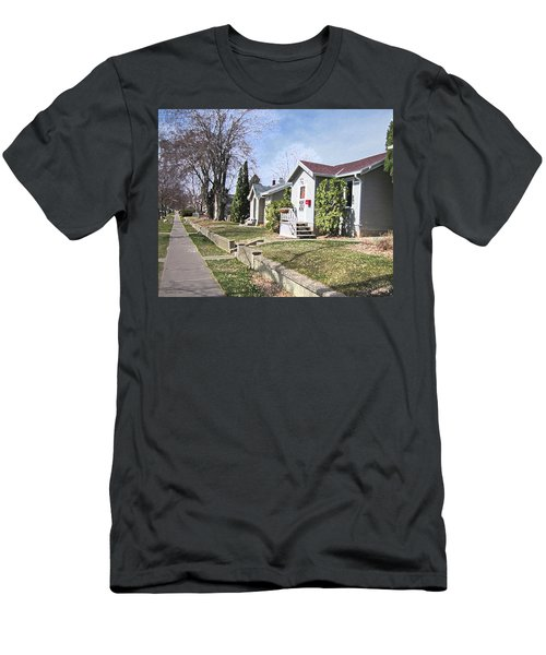Quiet Street Waiting For Spring Men's T-Shirt (Athletic Fit)