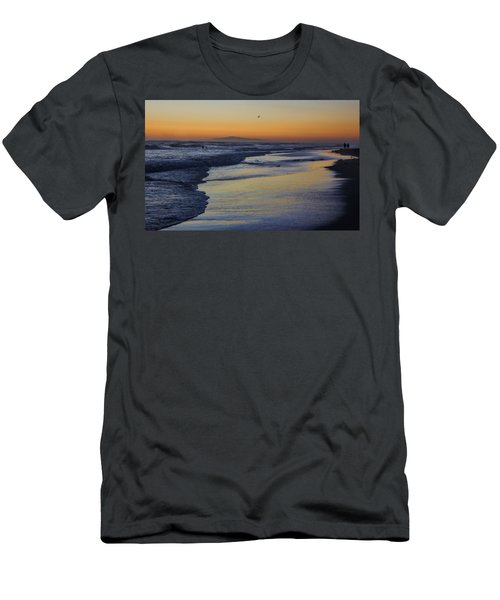 Quiet Men's T-Shirt (Slim Fit) by Tammy Espino