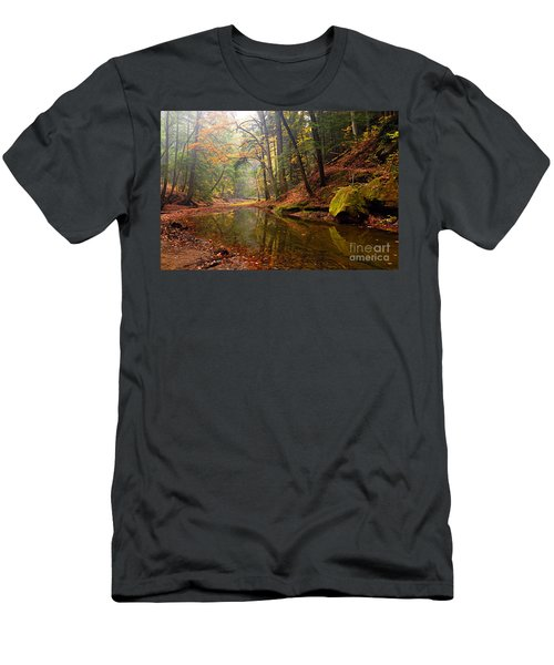 Quiet Waters Men's T-Shirt (Athletic Fit)