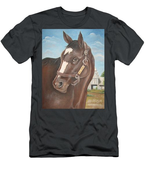 Rachel Alexandra At Stonestreet Farms Men's T-Shirt (Athletic Fit)