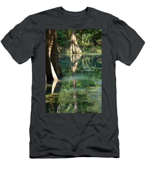 Radium Springs Creek In The Summertime Men's T-Shirt (Athletic Fit)