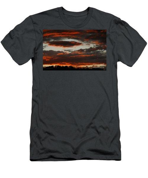 Raging Sunset Men's T-Shirt (Athletic Fit)