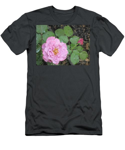 Rain Kissed Rose Men's T-Shirt (Athletic Fit)