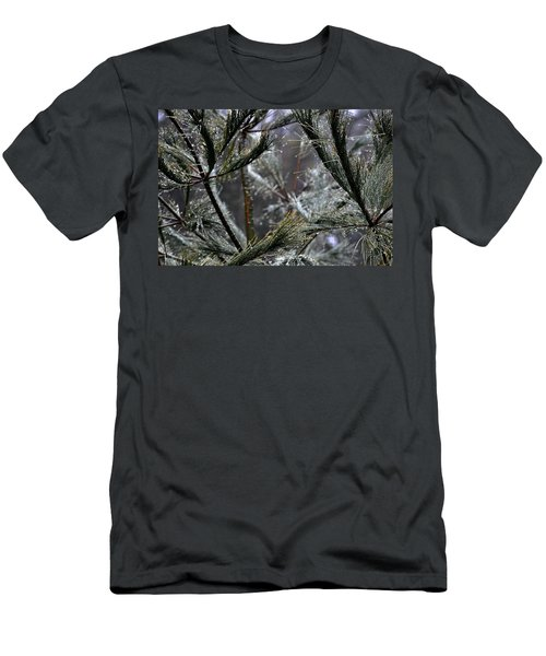 Rain On Pine Needles Men's T-Shirt (Athletic Fit)