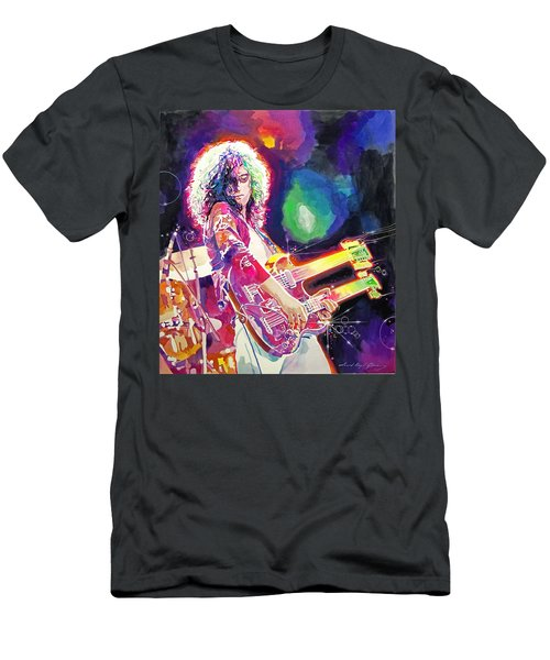 Rain Song Jimmy Page Men's T-Shirt (Athletic Fit)