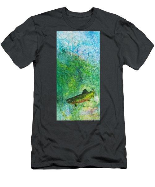 Rainbow Environment Men's T-Shirt (Athletic Fit)