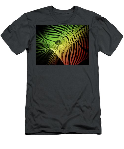 Rainbow Ribs Men's T-Shirt (Athletic Fit)