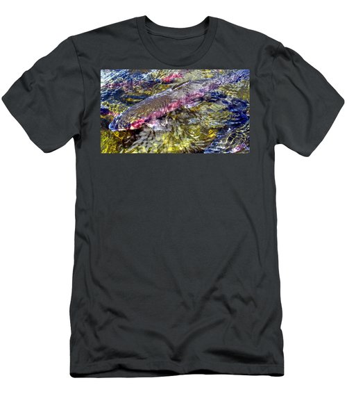 Rainbow Trout Men's T-Shirt (Athletic Fit)