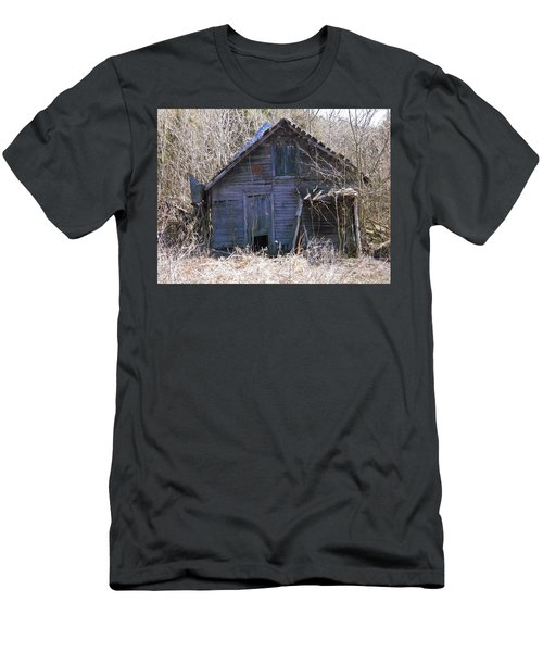 Men's T-Shirt (Slim Fit) featuring the photograph Ramshackled by Nick Kirby