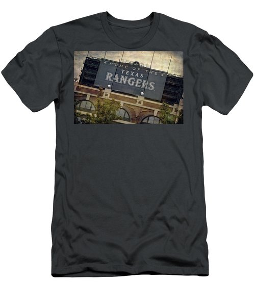 Rangers Ballpark In Arlington Color Men's T-Shirt (Athletic Fit)