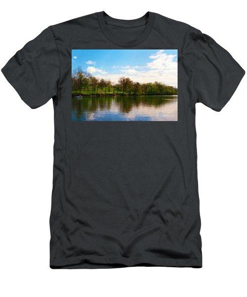 Rappahannock River I Men's T-Shirt (Athletic Fit)