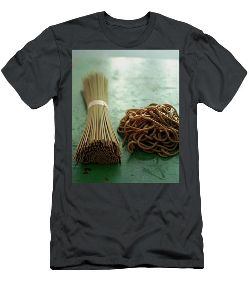 Raw And Cooked Pasta Men's T-Shirt (Athletic Fit)