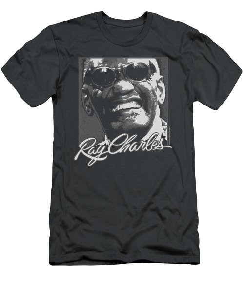 Ray Charles - Signature Glasses Men's T-Shirt (Athletic Fit)