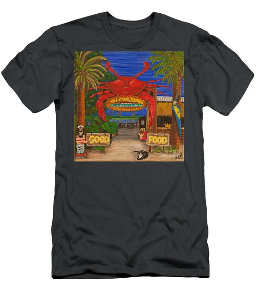 Ready For The Day At The Crab Shack Men's T-Shirt (Athletic Fit)