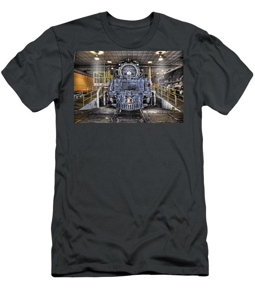 Men's T-Shirt (Slim Fit) featuring the photograph Ready To Begin My Restoration by Ken Smith