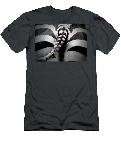 Rear-end Men's T-Shirt (Slim Fit) by Douglas Barnard