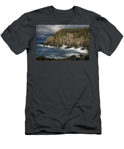 Receding Storm At Gulliver's Hole Men's T-Shirt (Athletic Fit)