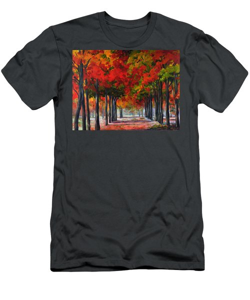 Red Alley II Men's T-Shirt (Athletic Fit)