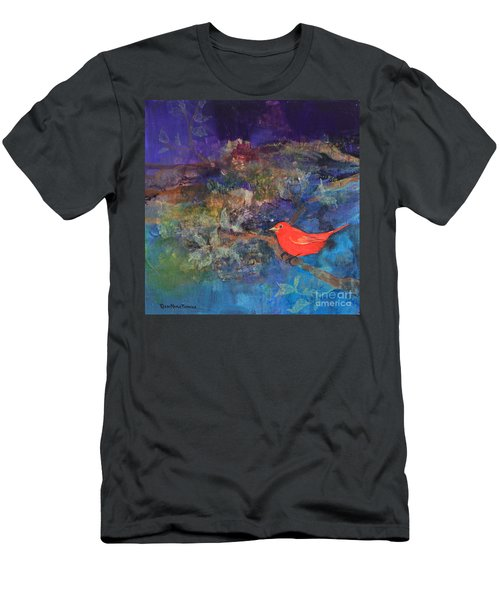 Red Bird Men's T-Shirt (Athletic Fit)