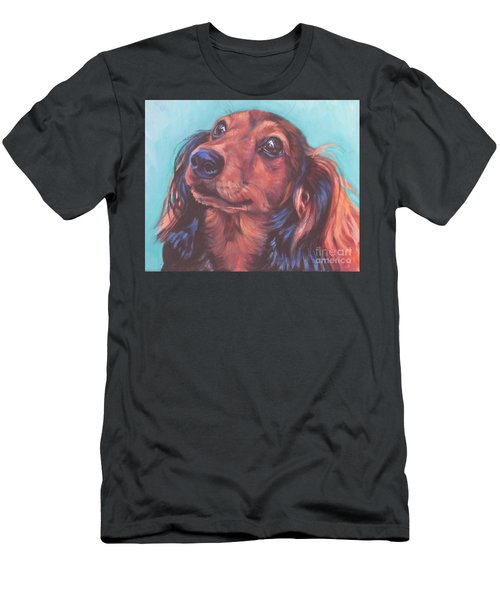 Red Doxie Men's T-Shirt (Athletic Fit)