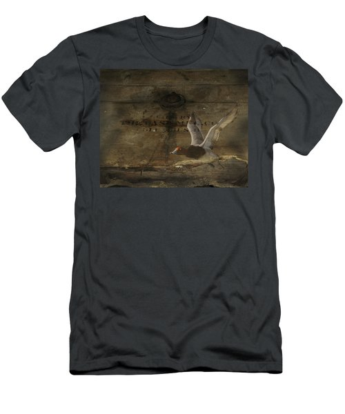 Red Head Duck Old Box Men's T-Shirt (Athletic Fit)