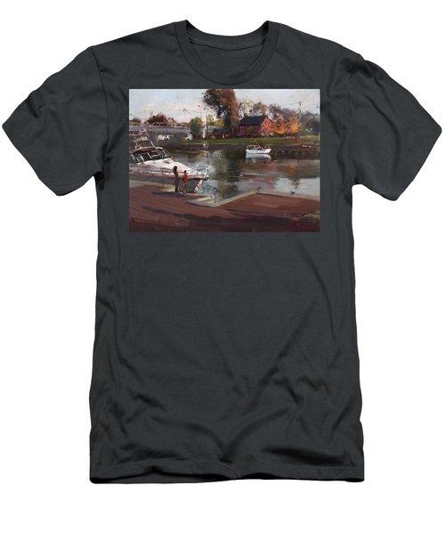 Red House In Tonawanda Men's T-Shirt (Athletic Fit)