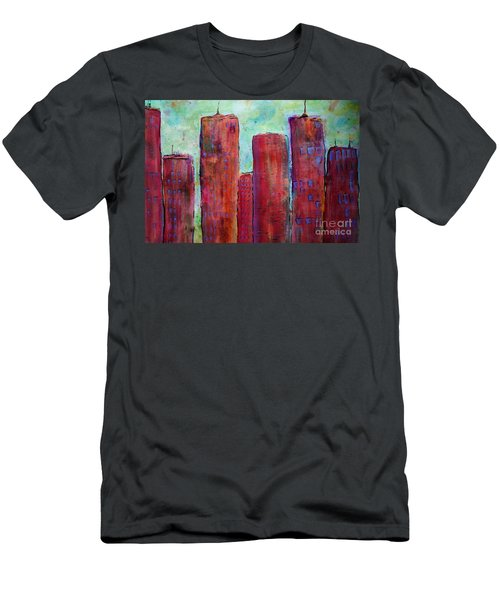 Red In The City Men's T-Shirt (Athletic Fit)