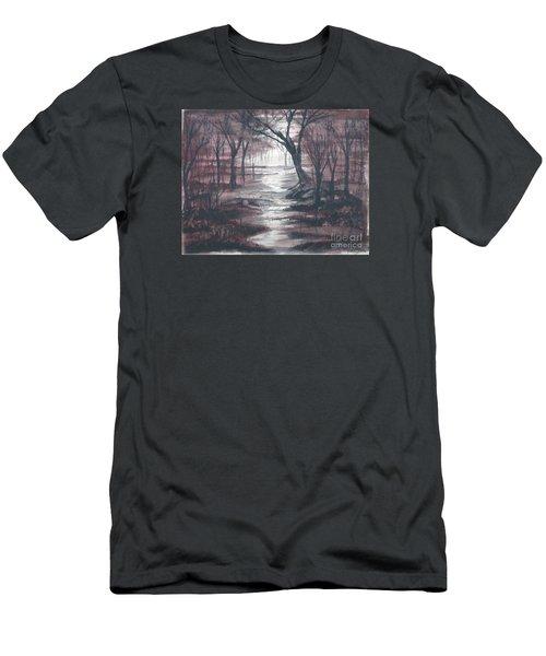 Red Mist  Men's T-Shirt (Athletic Fit)