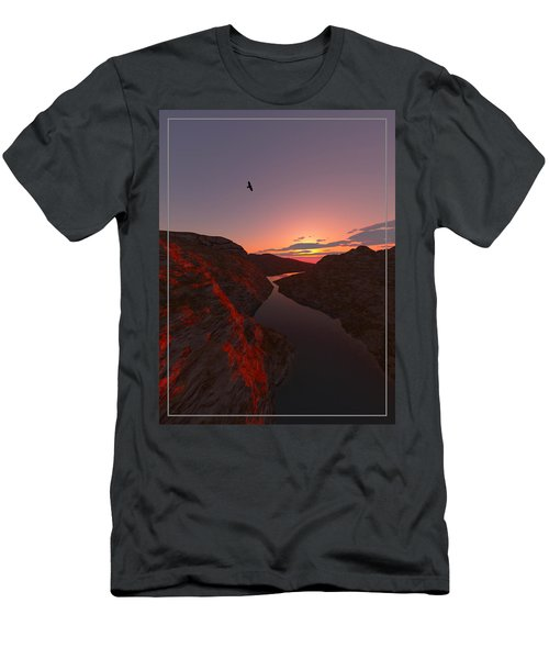 Red River... Men's T-Shirt (Athletic Fit)
