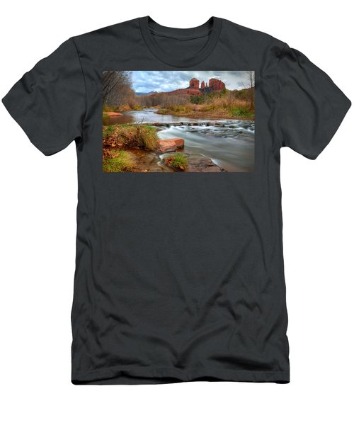 Red Rock Crossing Men's T-Shirt (Athletic Fit)