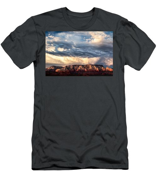 Red Rocks Of Sedona Men's T-Shirt (Athletic Fit)