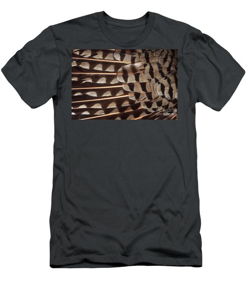 Red-shafted Flicker Feathers Men's T-Shirt (Athletic Fit)