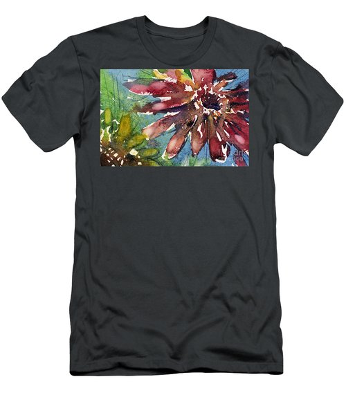 Red Sunflower Men's T-Shirt (Athletic Fit)