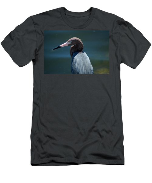 Reddish Egret 3 Men's T-Shirt (Athletic Fit)