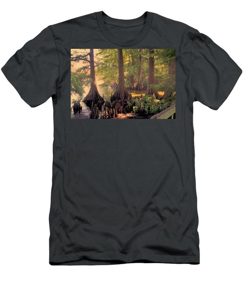 Reelfoot Lake At Sunset Men's T-Shirt (Athletic Fit)