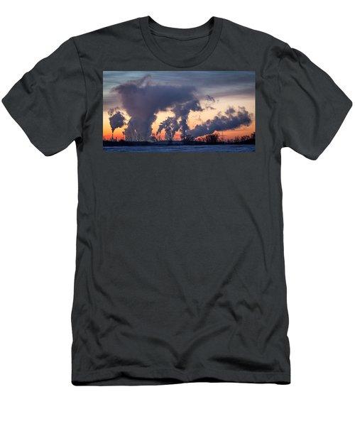 Flint Hills Resources Pine Bend Refinery Men's T-Shirt (Athletic Fit)