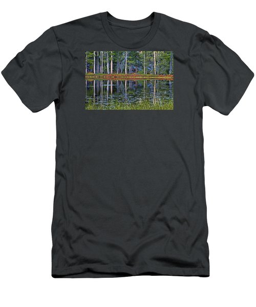 Reflecting Nature Men's T-Shirt (Slim Fit) by Duncan Selby